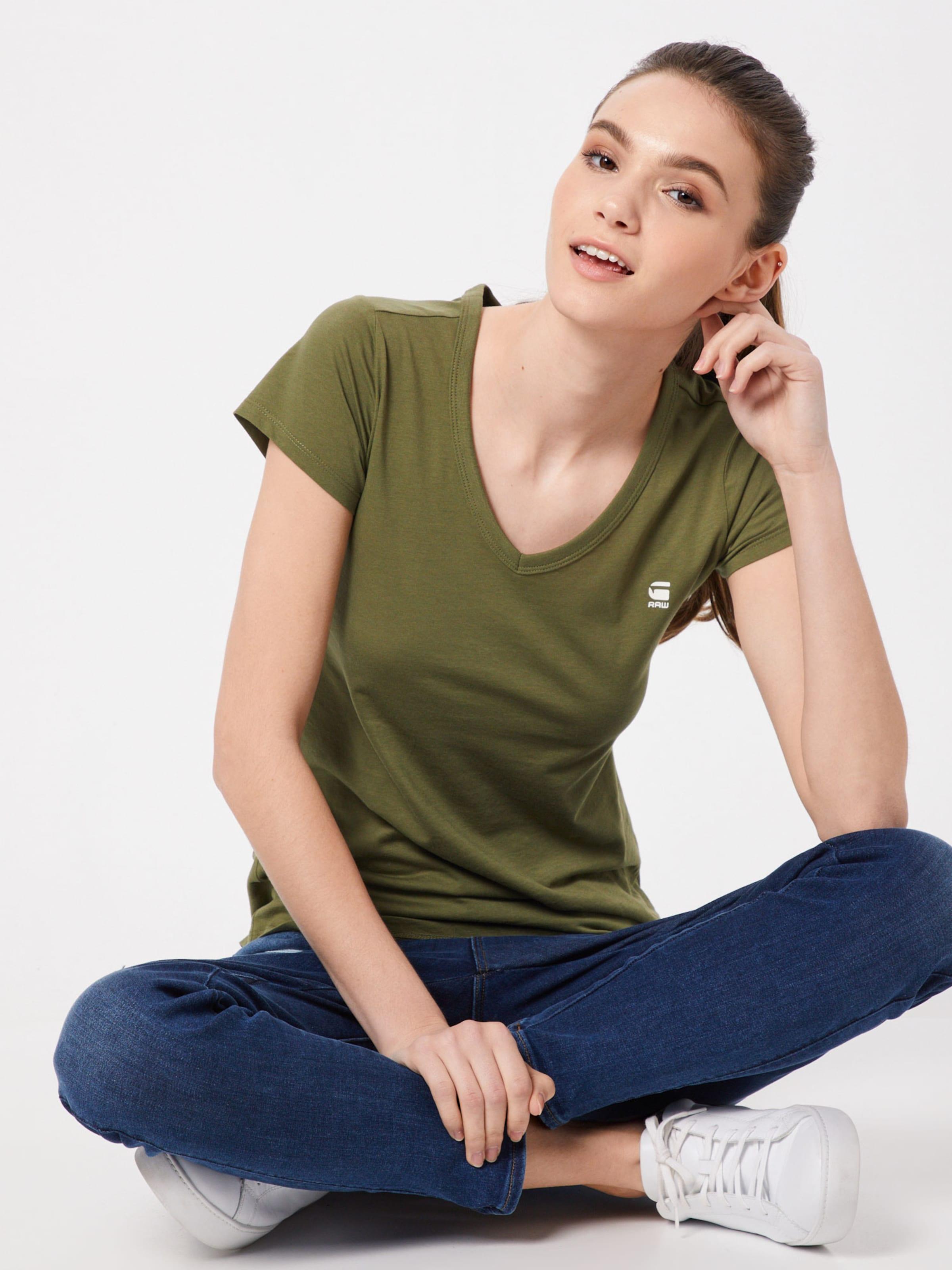 V' 'eyben Khaki star Shirt Raw G In D92WHIE