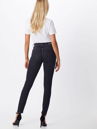 Calvin Klein Jeans Jeans 'CKJ 010' in black denim: Rückansicht