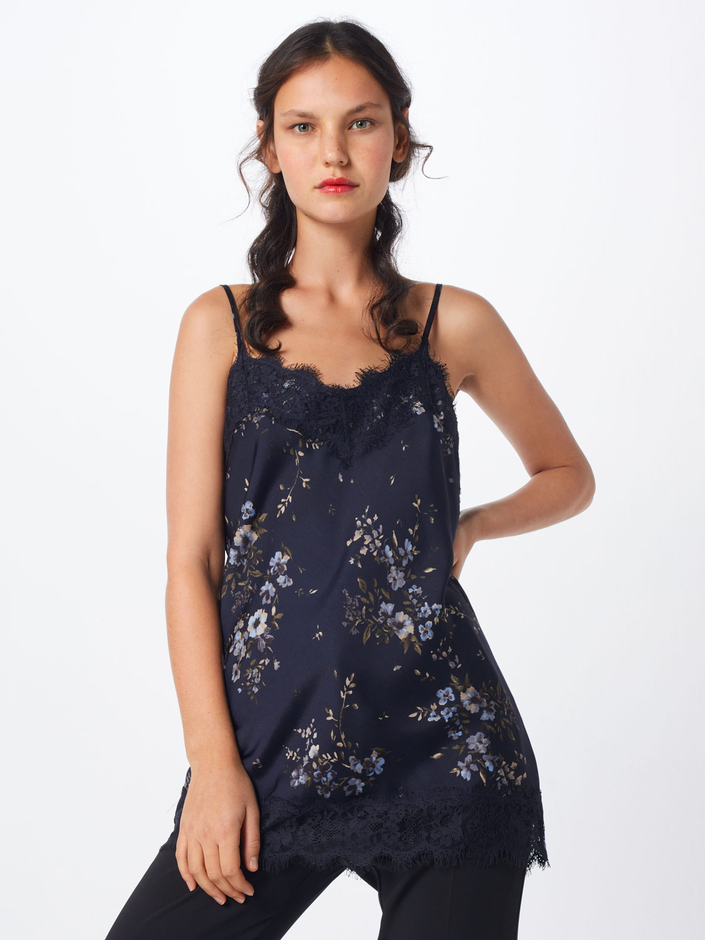 Bleu Haut MarineNoir En Bleu Rosemunde Haut Rosemunde En WIH29EDY