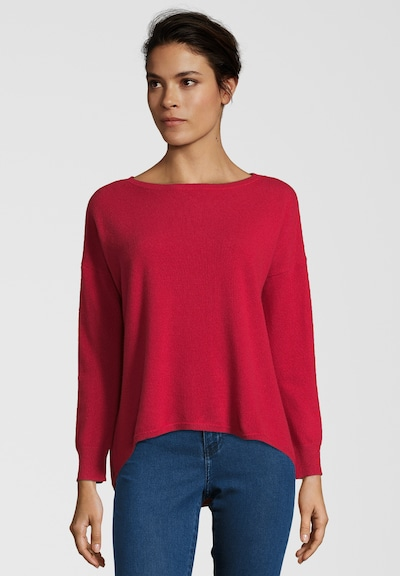 BLAUMAX Pullover 'JOLINA CASHMERE' in rot, Modelansicht
