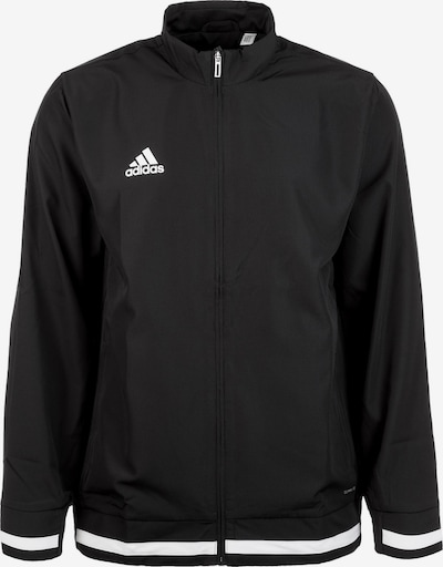 ADIDAS PERFORMANCE Trainingsjacke 'Team19' in schwarz / weiß, Produktansicht