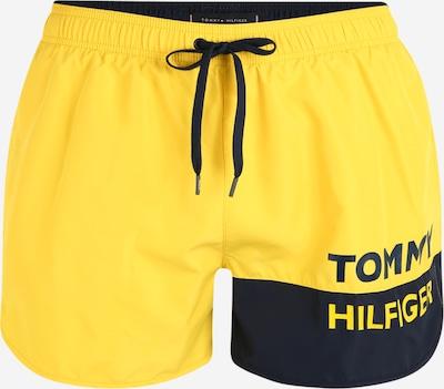 Tommy Hilfiger Underwear Badeshorts 'RUNNER' in blau / gelb, Produktansicht