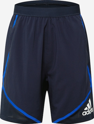 ADIDAS PERFORMANCE Shorts in dunkelblau, Produktansicht