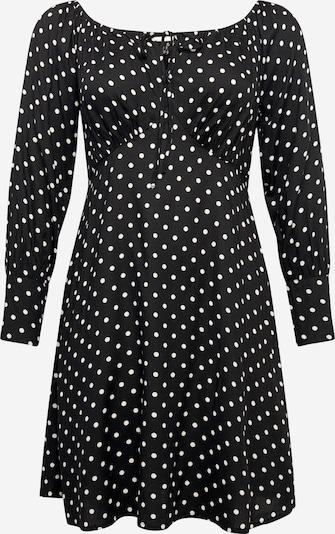 Vero Moda Curve Robe-chemise en noir / blanc, Vue avec produit