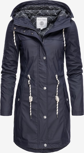 Peak Time Regenjacke 'L60042' in navy, Produktansicht