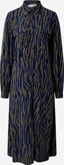 MOSS COPENHAGEN Kleid 'Jaine' in blau / brokat, Produktansicht