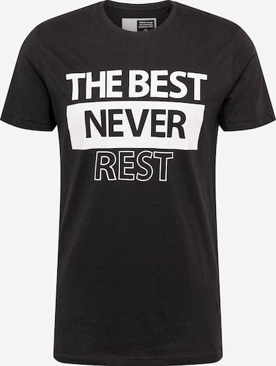 Marškinėliai 'Leto' iš !Solid , spalva - juoda / balta, Prekių apžvalga