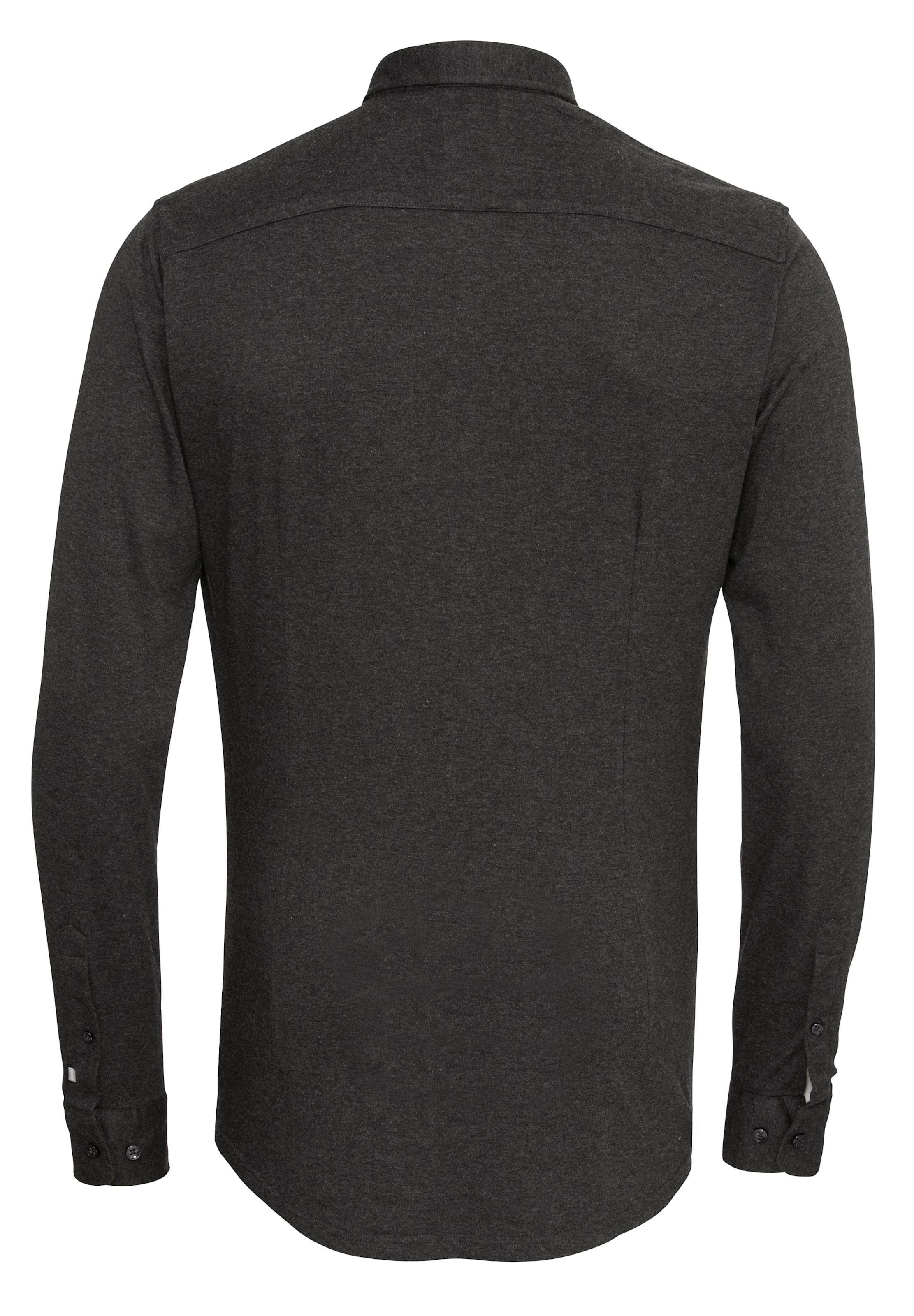 PURE Langarm-Hemd City Silver Extra Slim Freies Verschiffen Bester Verkauf Rabatt-Spielraum Auslass Echt Limit Rabatt Große Diskont Günstig Online iQC3t