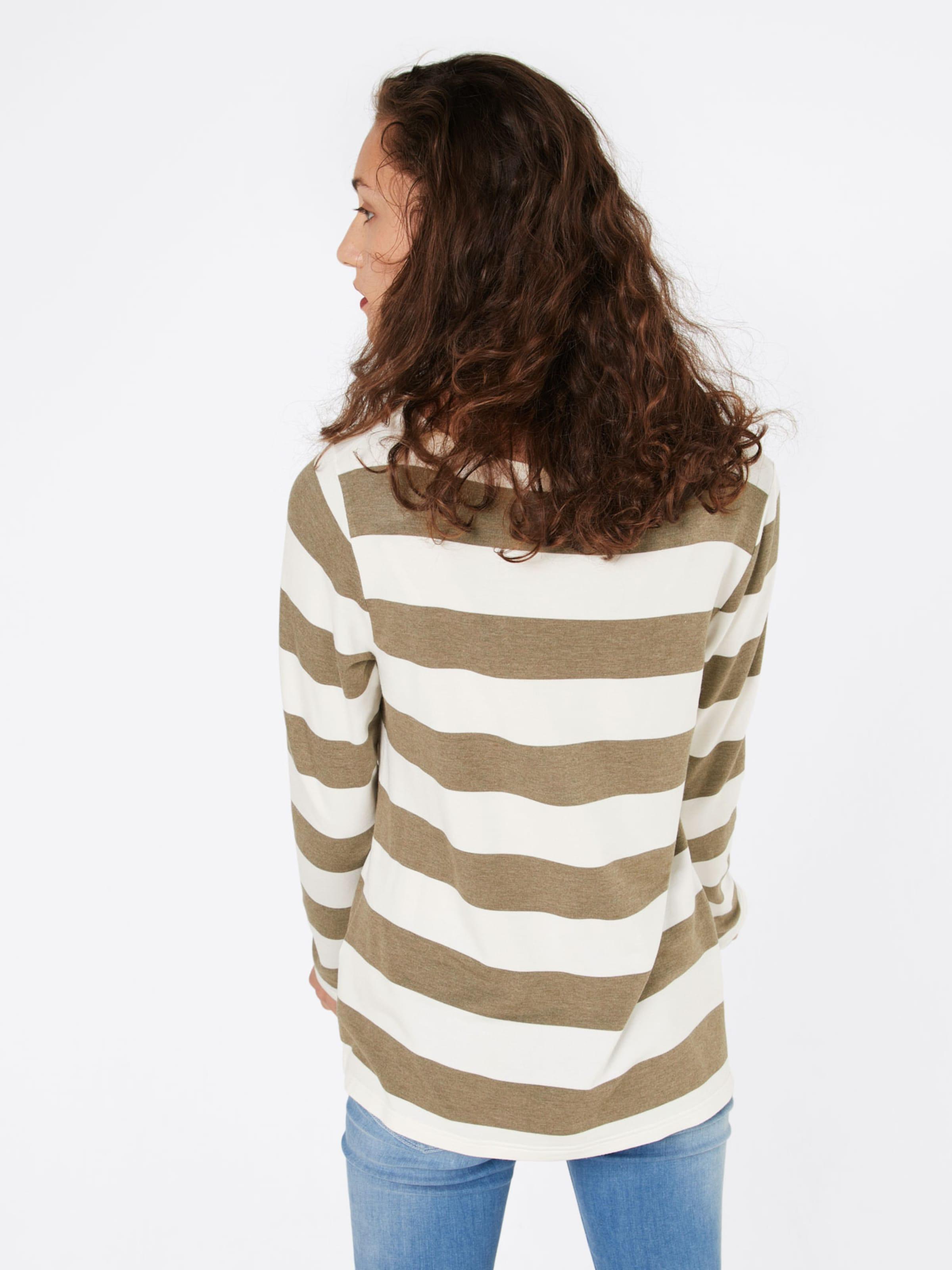 Günstig Kaufen Niedrigen Preis Versandkosten Für Rabatt Browse Juvia Sweatshirt 'Fleece VI/CMD Sweater Block Stripe +Print' ssGHVF04