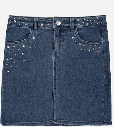 KIDS ONLY Rock 'KONDINA DNM STAR STUDD SKIRT' in blue denim, Produktansicht