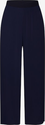 ONLY Hose 'onlPETUNIA CROPPED PLISSE PANT WVN' in nachtblau: Frontalansicht