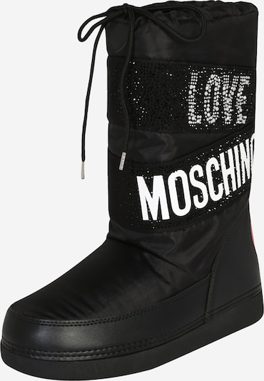 Love Moschino Snow boots in Black / White, Item view