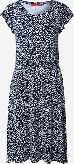 Suknelė iš s.Oliver , spalva - nakties mėlyna / benzino spalva / balta, Prekių apžvalga