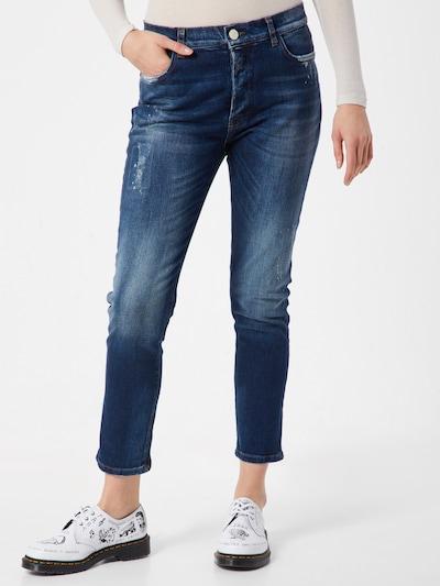 Goldgarn Jeans  'AUGUSTA I Tappered' in blau, Modelansicht