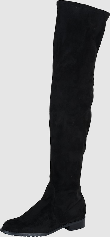 ESPRIT Overknees 'Stevy Textil Bequem, gut aussehend
