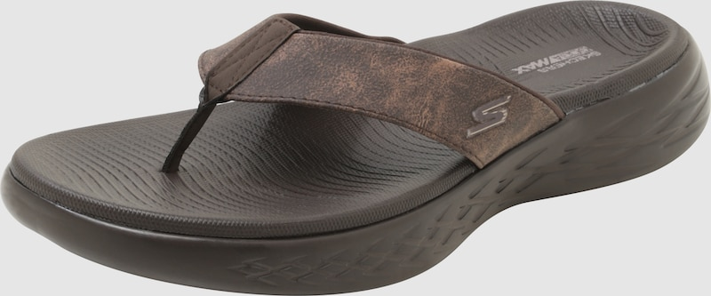 SKECHERS Zehentreter '3 Point Perform Tex Sandal Molded Footbed Synthetik Billige Herren- und Damenschuhe