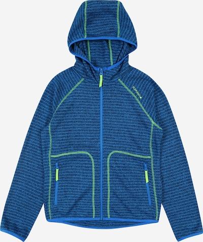 ICEPEAK Sportovní mikina 'LOUIN' - modrá / tmavě modrá / svítivě zelená, Produkt