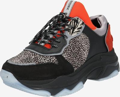 BRONX Sneaker Low 'Baisley' in rot / schwarz, Produktansicht