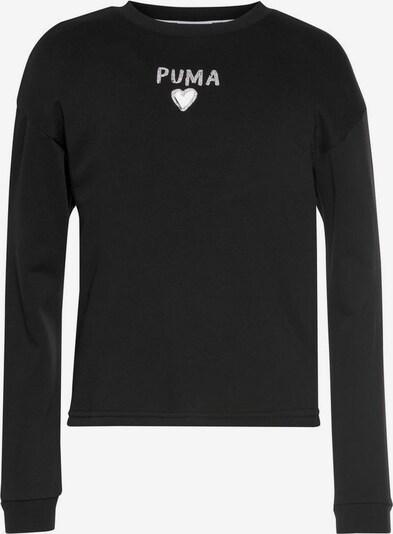PUMA Sweatshirt in schwarz, Produktansicht