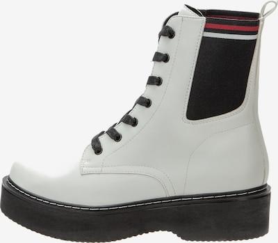 BETSY Boots in rot / schwarz / weiß, Produktansicht