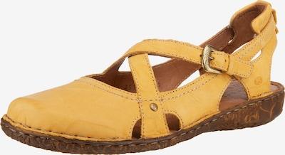JOSEF SEIBEL Sandalen 'Rosalie 13' in gelb, Produktansicht