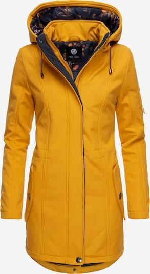 Peak Time Softshelljacke 'L60468' in gelb, Produktansicht