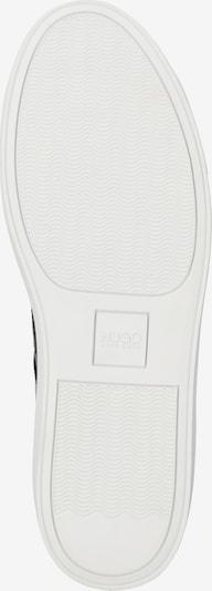 HUGO Sneaker 'Futurism_Hito' in schwarz / weiß: Ansicht von unten