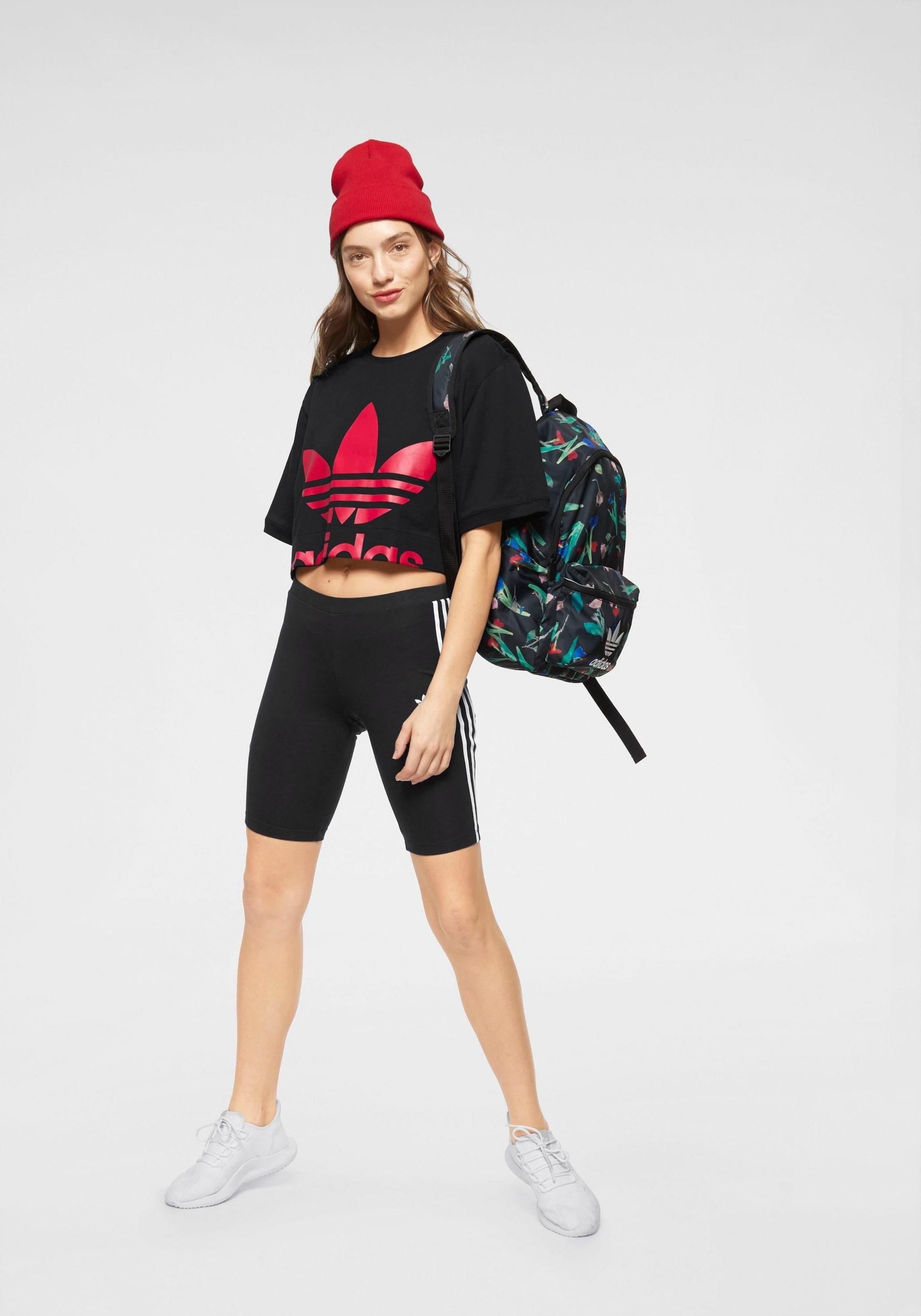 Adidas shirt T FeuerrotSchwarz In Originals nOv0N8mw