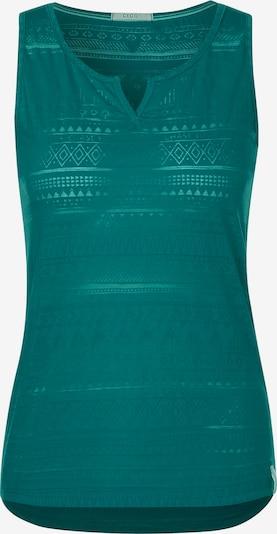 CECIL Top mit Ethno-Muster in grün, Produktansicht