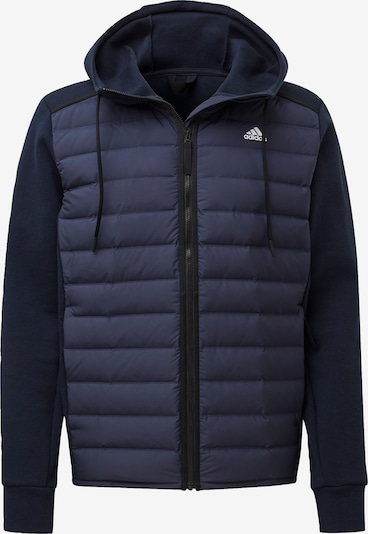 ADIDAS PERFORMANCE Jacke 'Varilite Hybrid Jacke' in blau, Produktansicht