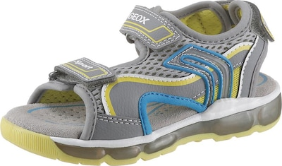 GEOX Kids Geox Kids Sandale »Blinkschuh Sandal Android Boy« in limette: Frontalansicht