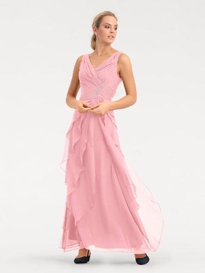heine Robe de soirée en rosé, Vue avec modèle