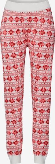 VILA Jogginghose 'KASA' in rot / weiß, Produktansicht