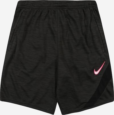 NIKE Sportovní kalhoty 'Academy' - tmavě šedá / pink / bílá, Produkt