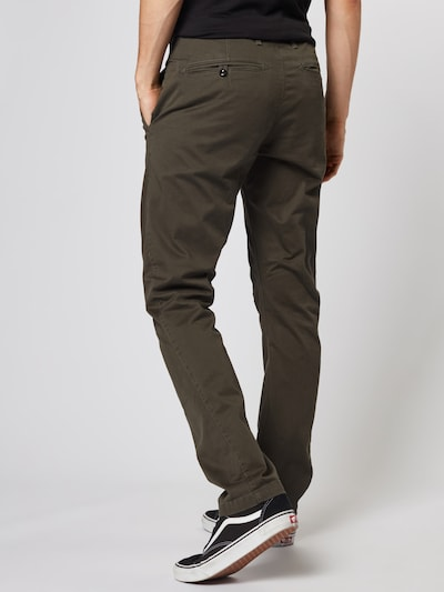 G-Star RAW Chino 'Vetar slim' in khaki: Rückansicht