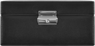 WINDROSE Uhrenbox 'Merino' in schwarz, Produktansicht