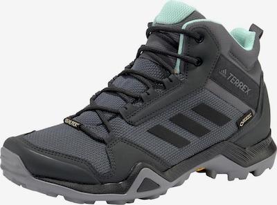 ADIDAS PERFORMANCE Športová obuv 'Terrex AX3 MID GTX' - sivá / čadičová / pastelovo zelená, Produkt