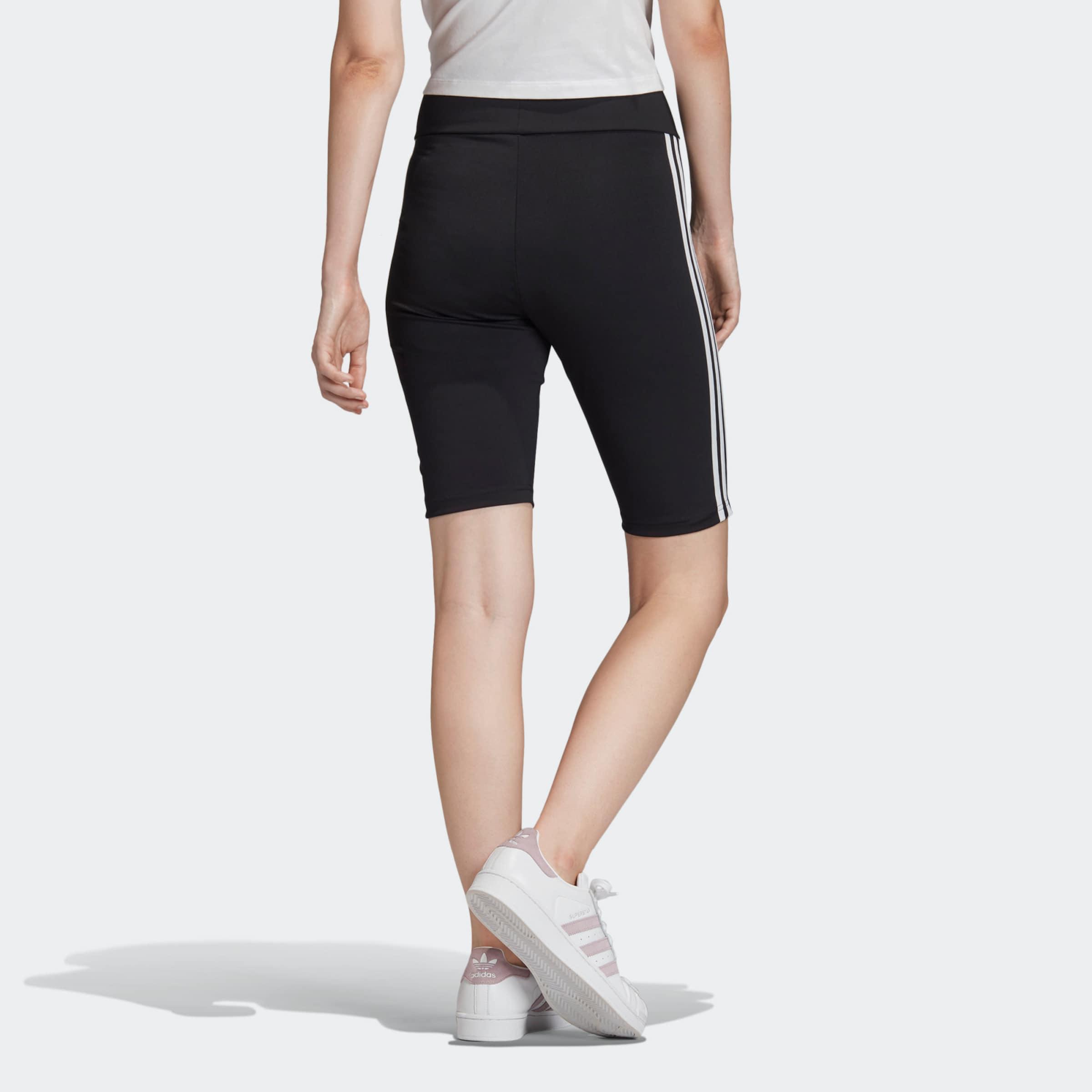ADIDAS ORIGINALS Shorts in schwarz / weiß