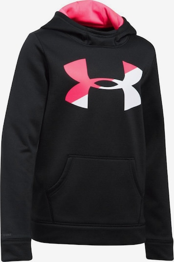 UNDER ARMOUR Sweatshirt in schwarz: Frontalansicht