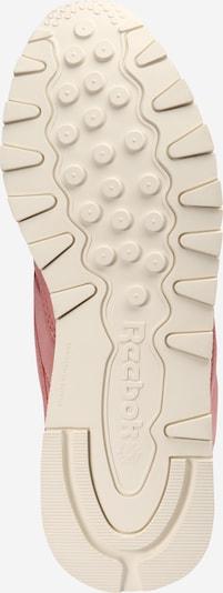 Reebok Classic Sneaker in rosa: Ansicht von unten