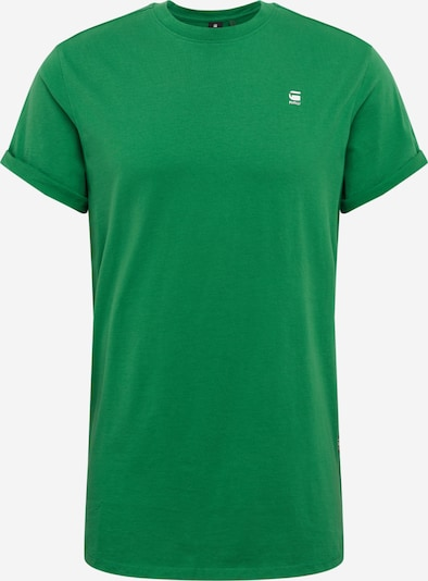 G-Star RAW Tričko 'Lash' - zelená / biela, Produkt