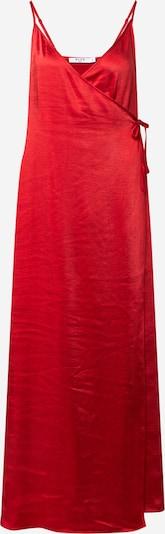 Rochie de vară NA-KD pe roșu: Privire frontală