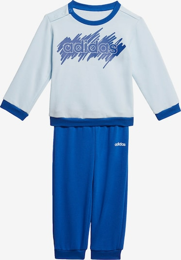 ADIDAS PERFORMANCE Jogginganzug  'LIN' in blau / hellblau / weiß, Produktansicht
