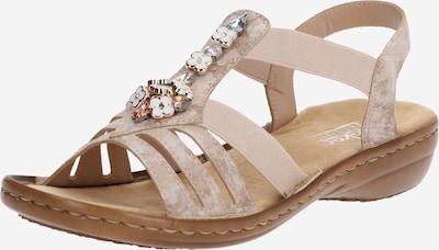 RIEKER Sandale in rosa, Produktansicht