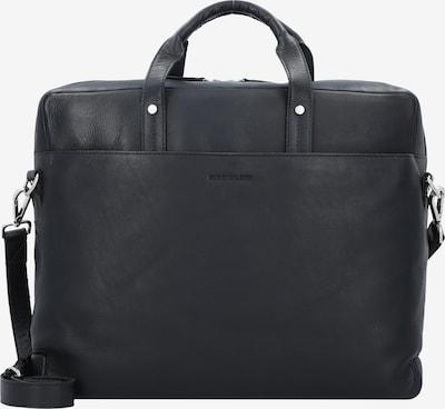Harold's Businesstasche 'Heritage' in schwarz: Frontalansicht