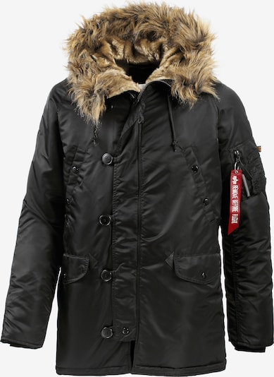 ALPHA INDUSTRIES Winterjas 'N3B VF 59' in de kleur Zwart, Productweergave