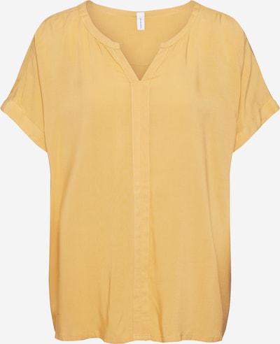 Tricou Soyaconcept pe galben auriu, Vizualizare produs