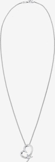 Diamore Halskette in silber / weiß, Produktansicht