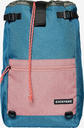 CHIEMSEE Rucksack in aqua / altrosa, Produktansicht