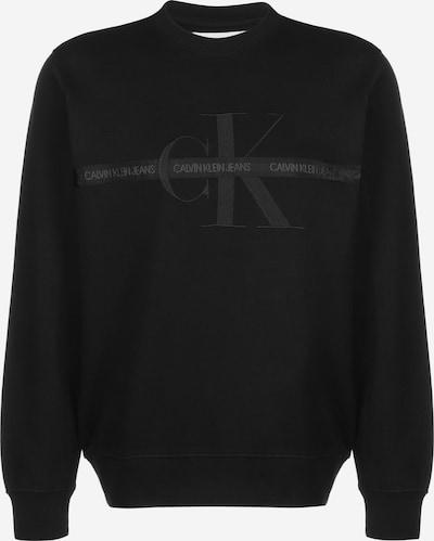 Calvin Klein Jeans Sweatshirt 'Taping Through' in schwarz, Produktansicht